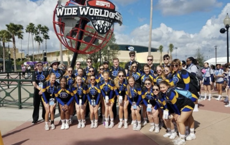 D-West Cheer Makes History at UCAs
