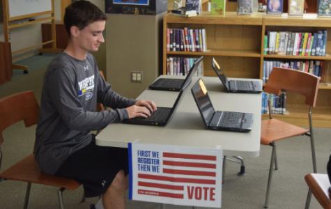 West Hosts Voter Registration Campaign