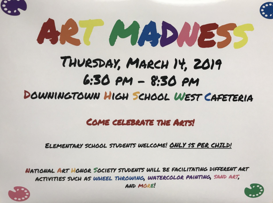 DWHS Art Madness Scheduled for Thursday 3/14