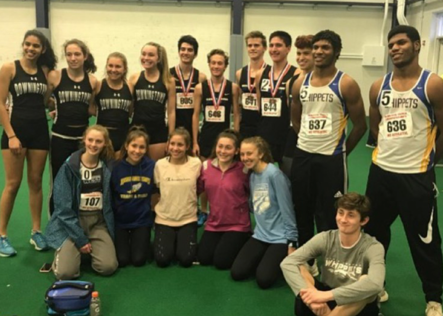 Beaming+after+a+successful+day+at+States+competition+for+Indoor+Track+and+Field%2C+some+of+the+team%E2%80%99s+participants+smile+for+a+group+photo.%0A%28Listed+left+to+right%2C+Top%3A+Malaika+Furtado%2C+Chloe+Stanfield%2C+Kennedy+Zednik%2C+Grace+Mucha%2C%0AJoe+Chamoun%2C+Payton+Sewall%2C+Ethan+Robinson%2C+Isaac+Valderrabano%2C+Ali+Hader%2C+Terrence+Gainer%2C%0AMarcus+Gainer+Bottom%3A+Sarah+Schreiber%2C+Lauren+Flannery%2C+Regan+Flannery%2C+Nina+Gallagher%2C%0AAshley+Cichon+and+Jack+Capello%29