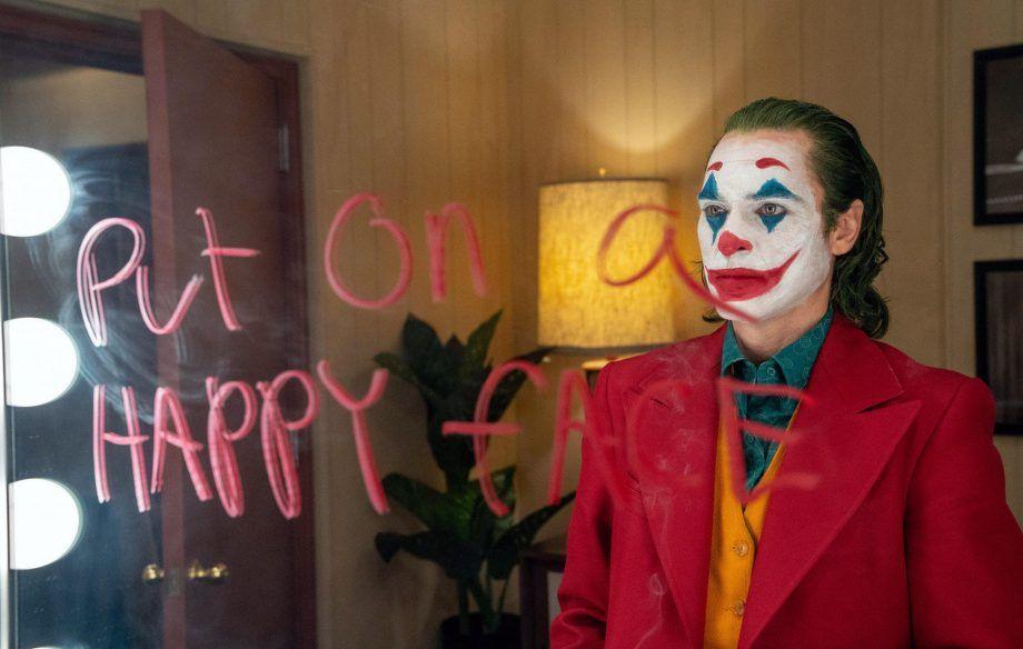 Joaquin Phoenix stars in Joker, released in theaters on October 4.