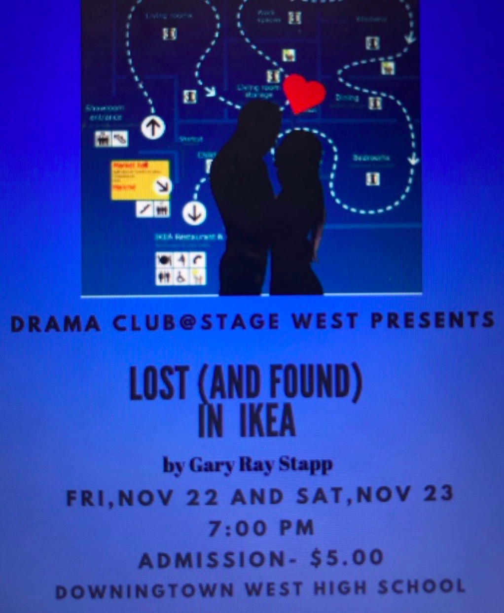 Come support Stage West and their fall play, Lost and Found in Ikea.  See you there!