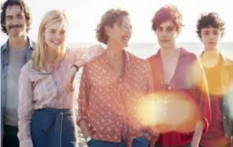 Here stand the five beautiful main characters of 20th Century Women:  the handyman, William; Jamie's friend, Julie; Dorothea; Abbie; and Jamie.  These characters form a strong bond throughout the film that makes it lovely to watch.